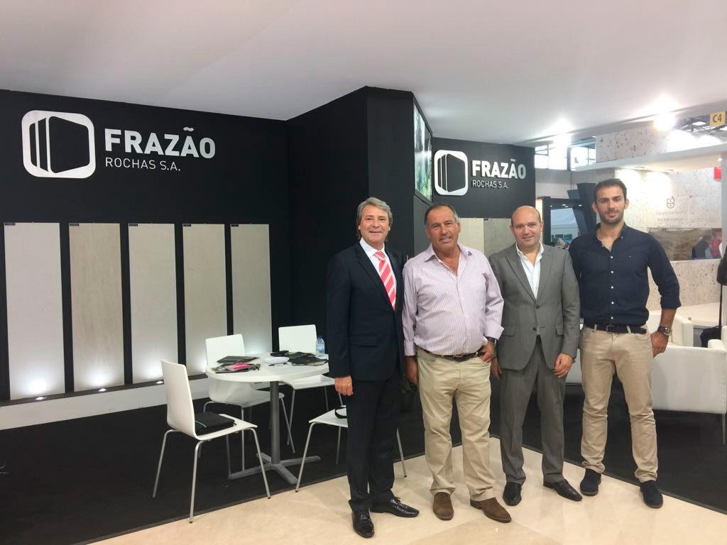 Daniel Pereira com a empresa FRAZÃO