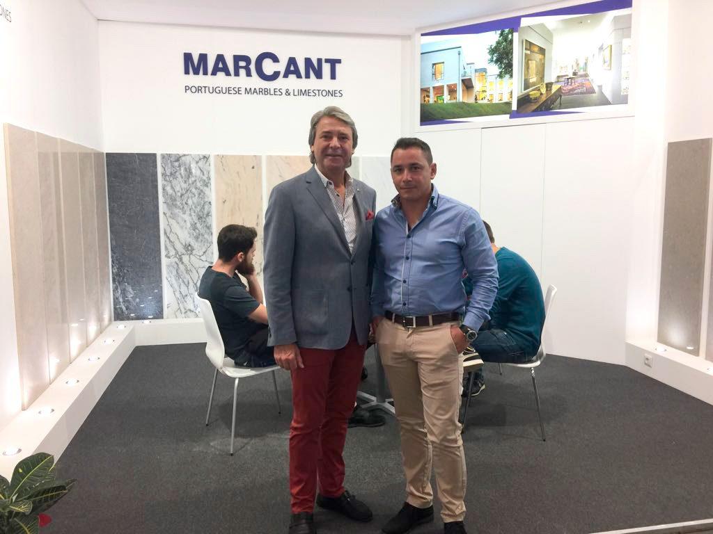 Daniel Pereira com André da MARCANT