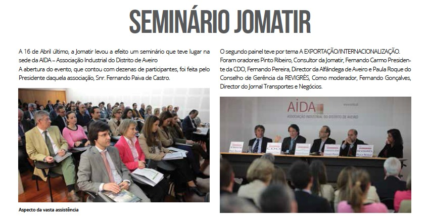APAT highlights the Seminar held by JOMATIR