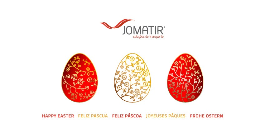 JOMATIR wishes all its Customers, Suppliers, Partners and Friends a Holy and Happy Easter.